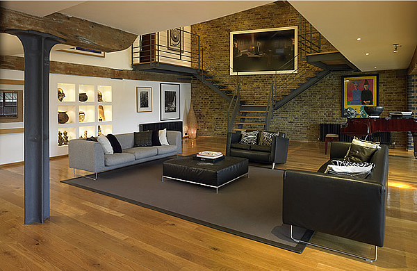 How to Decorate the Wall of your Living Room with Stone